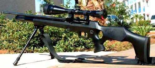 how to make a high powered air rifle