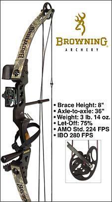 Browning Archery Compound Bows Tornado Ambush Midas Mirage